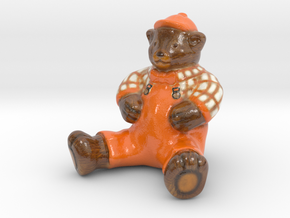 bear_Accs_01 in Glossy Full Color Sandstone