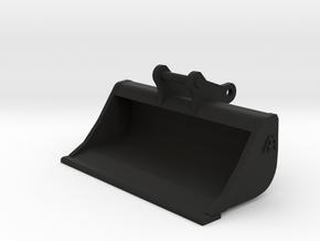 Slotenbak / brede bak 13-16 ton 1:50 miniatuur in Black Natural Versatile Plastic