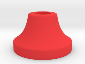 VSKF AirSoft SafePlug V2_front in Red Processed Versatile Plastic