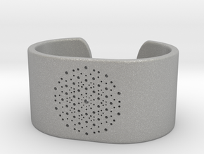 Quasicrystals Diffraction Pattern Bracelet - simpl in Aluminum