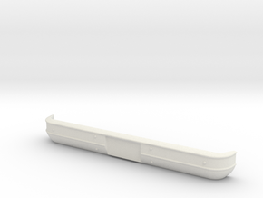 '73-'80 Front Bumper for RC4WD Blazer in White Natural Versatile Plastic