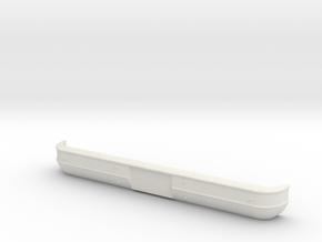'73-'80 Front Bumper for RC4WD Blazer in White Natural Versatile Plastic