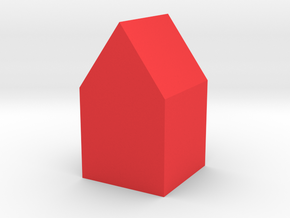 house in Red Processed Versatile Plastic