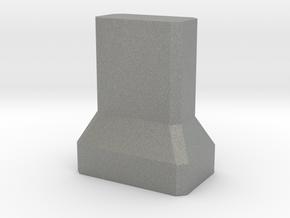 Motorway 2 Pillar 1:1000 scale in Gray Professional Plastic