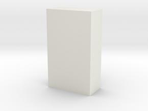 Motorway 1 Pillar 1:1000 scale in White Natural Versatile Plastic