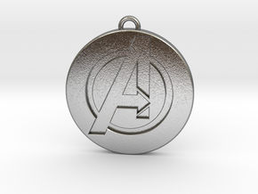 Keychain - Necklace - Avengers in Natural Silver