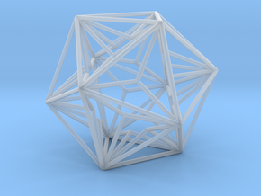 Great Dodecahedron in Smooth Fine Detail Plastic