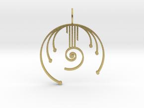 Harmonic Oscillator in Natural Brass