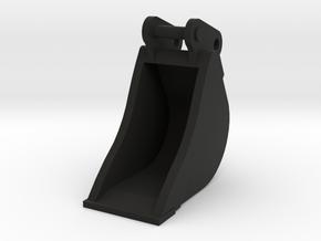 Dieplepelbak 50cm breed voor 8 tons midikranen in Black Natural Versatile Plastic