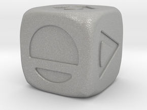 Star Wars Solo Sabacc Dice Large 19mm in Aluminum