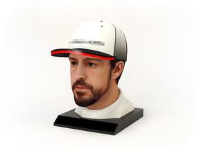 Fernando 1/8 Head Figure in Full Color Sandstone