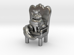 Cat Lord in Natural Silver