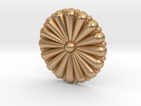 1/72 IJN Gold Chrysanthemum in Natural Bronze