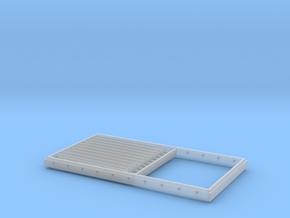 Lamellenlüfter für Fregatten KL120 in 1:50 in Smooth Fine Detail Plastic
