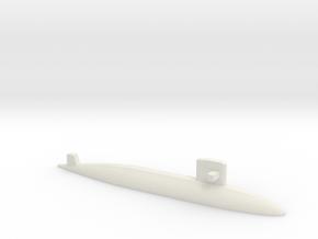 Yūshio-class submarine, 1/2400 in White Natural Versatile Plastic
