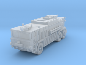 OK T3000 6x6 ARFF Fire Truck in Smoothest Fine Detail Plastic: 6mm