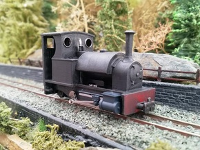 *REDUCED* 009 Kerr Stuart 'Stanhope' 4mm Scale PQR in Smooth Fine Detail Plastic