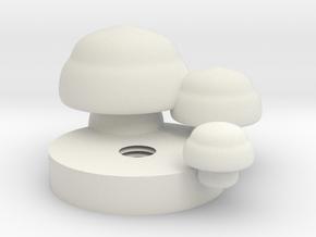 未命名.stl in White Natural Versatile Plastic
