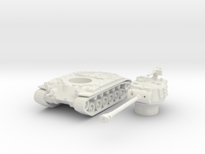 M26 pershing scale 1/100 in White Natural Versatile Plastic