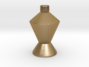 CHUAN'S Champion Bottle in Polished Gold Steel