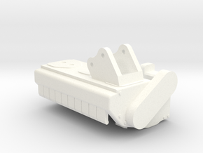 Mulcher in White Processed Versatile Plastic