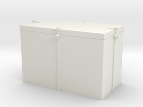 1/35 USN Ammo Locker 20mm in White Natural Versatile Plastic