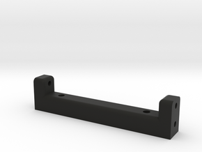 Bumper bracket in Black Natural Versatile Plastic