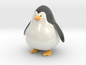 Punge the Penguin in Glossy Full Color Sandstone