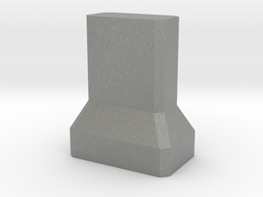 Motorway 4 Pillar 1:1000 scale in Gray Professional Plastic