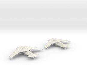 SA-43 Hammerhead Flight: 1/270 scale in White Natural Versatile Plastic