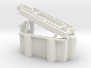 LOSI JRX2 BATTERY HOLDER in White Natural Versatile Plastic