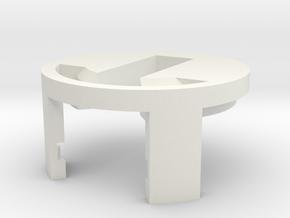 Windu Elite ChassisCap - (Part 8/8) in White Natural Versatile Plastic
