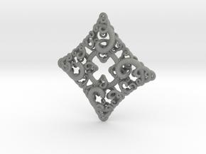 Ko4 pendant in Gray Professional Plastic