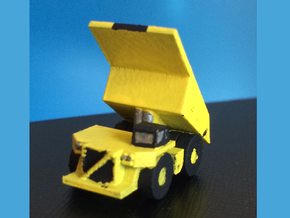 CAT 793F Dump Truck Lifted Bed in Smoothest Fine Detail Plastic: 1:500
