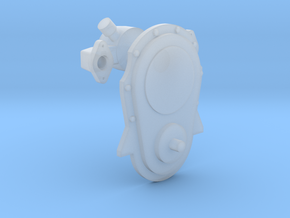 Brodix 1/12 BBC front cover & water pump in Smooth Fine Detail Plastic