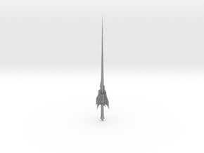 1/3rd Scale Weiss type Rapier in Gray Professional Plastic