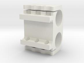 Sentinel Laser Sight/Flashlight PEQ in White Natural Versatile Plastic