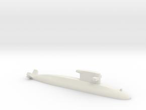 Walrus-class submarine, 1/2400 in White Natural Versatile Plastic
