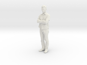Printle C Homme 061 - 1/24 - wob in White Natural Versatile Plastic