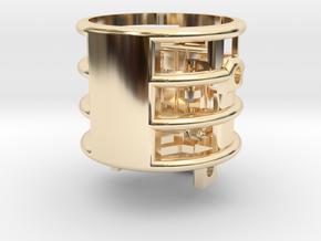 Windu Elite - Chamber (Part 3/8) in 14K Yellow Gold