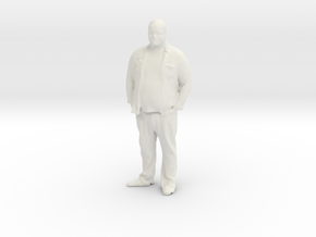 Printle C Homme 062 - 1/24 -  wob in White Natural Versatile Plastic
