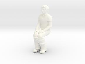 Porta Potty Pete in White Processed Versatile Plastic: 1:22.5