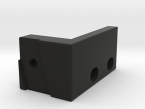 hand crank bracket 2 in Black Natural Versatile Plastic