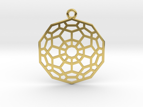 Hyper Dodecahedron in Polished Brass