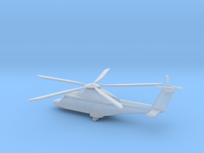 1/350 Scale AW169M Helicopter in Smooth Fine Detail Plastic