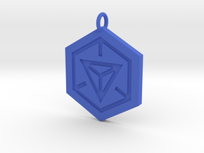 Ingress Pendant in Blue Processed Versatile Plastic
