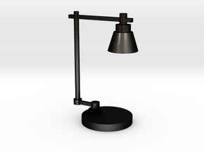 Industrial lamp in Matte Black Steel