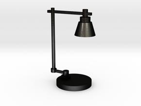 Industrial lamp in Matte Black Steel