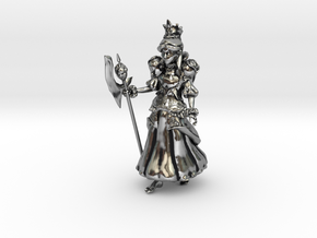 Alice, New Queen of Hearts in Antique Silver