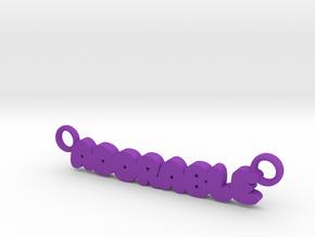 adorable in Purple Processed Versatile Plastic